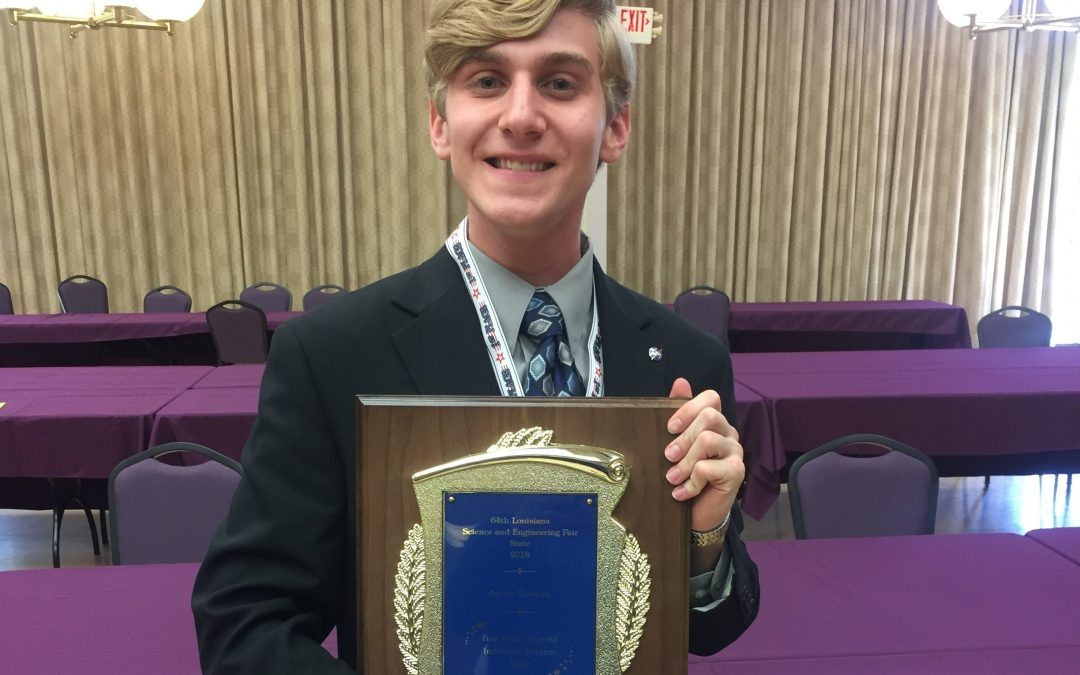 SMART student top winner at state science fair