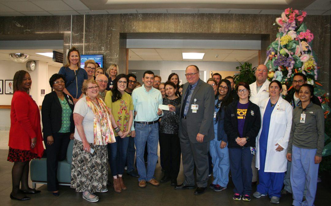 Juan Zuniga family makes donation to University Health Shreveport