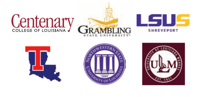 NLAF 2 partners with six North Louisiana universities